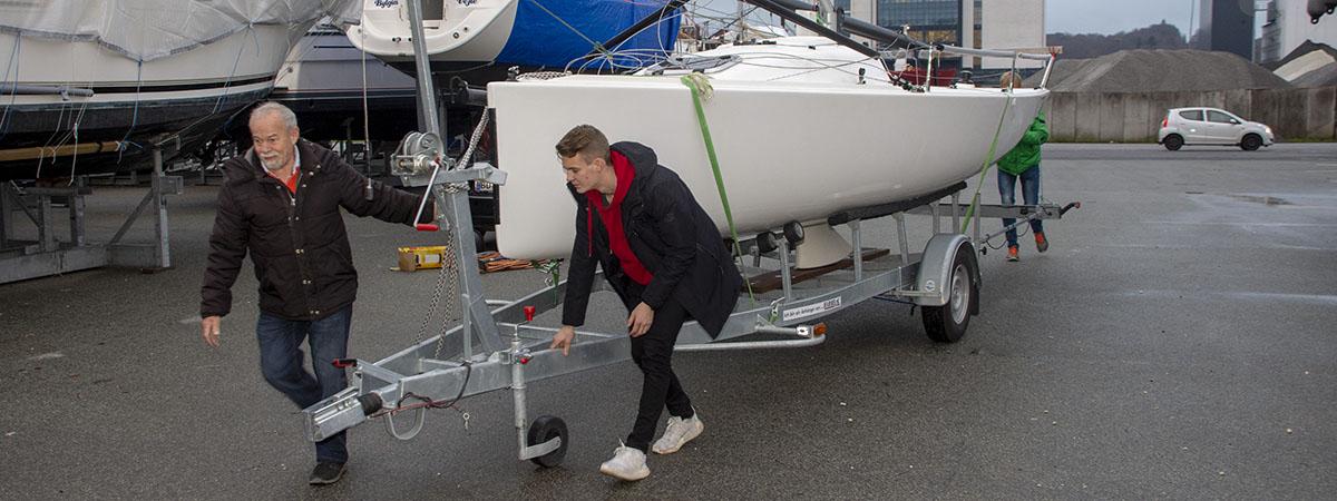 J/70 både er kommet til Vejle